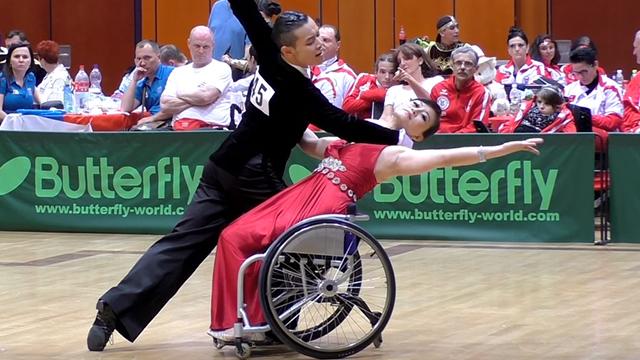 Tekerlekli Sandalye ile Dans Sporu