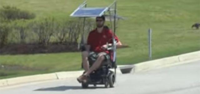 Güneş Enerjisi ile Çalışan Tekerlekli Sandalye Piyasası