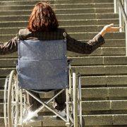 Tekerlekli Sandalye Merdiven Çıkma Aparatı