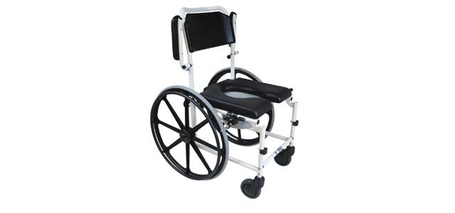 tekerlekli banyo sandalyesi - poylin p618