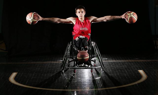 tekerlekli sandalye basketbol oyuncusu