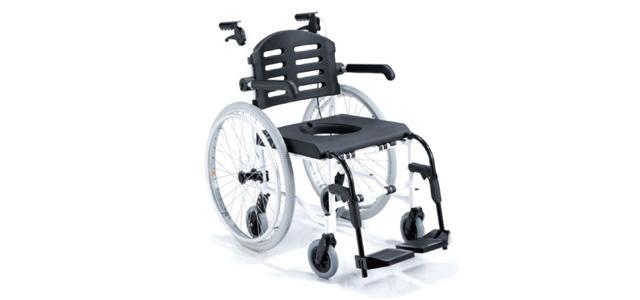 tekerlekli banyo sandalyesi - comfort sl 155