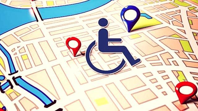 google harita tekerlekli sandalye erişimi