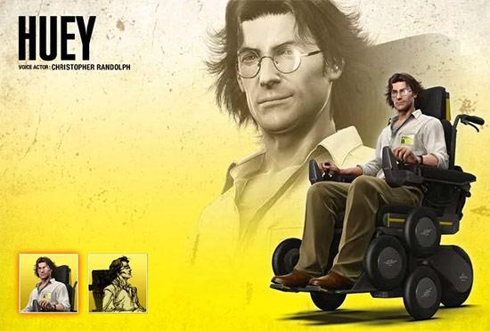 Dr. Huey Emmerich – Metal Gear Solid
