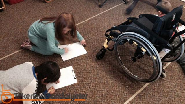 engelliler için oyun terapisi