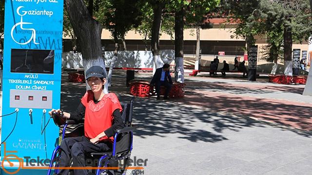 Gaziantep tekerlekli sandalye sarj yeri