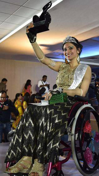 miss india wheelchair 2015