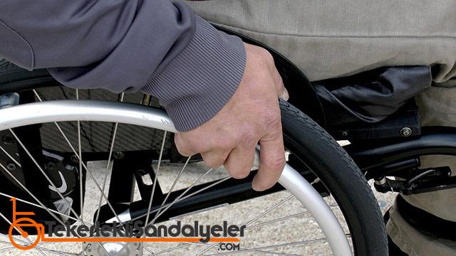 tekerlekli sandalye ne demek