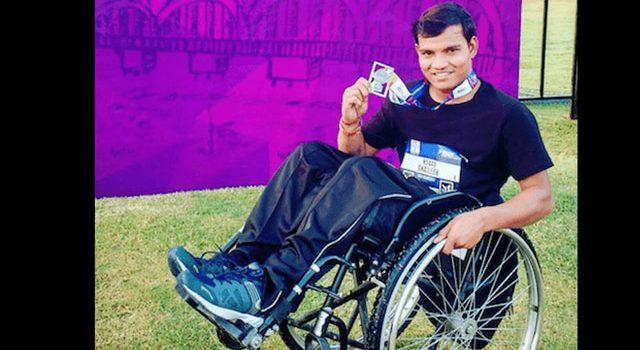 Hindistan'ın En Hızlı Tekerlekli Sandalye Maratoncusu Shailesh Kumar Tokyo Paralimpik Yarışlarına Katılabilecek mi?